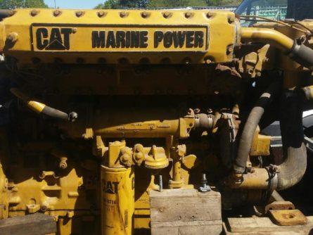 moteur marin caterpillar C12