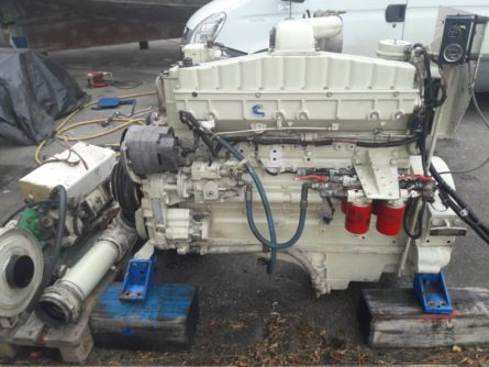 engine marine cummins NTA855