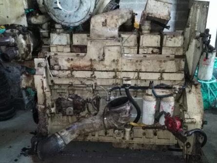 Cummins marine engine used