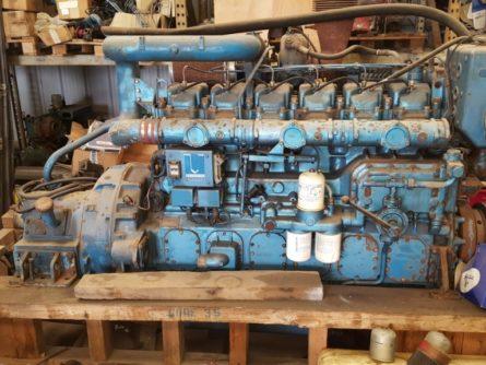moteur marin Baudouin 6m26 S22 occasion