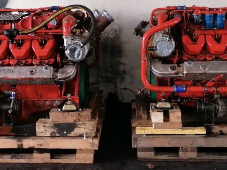 marine engine scania DI 14 69 M 48E
