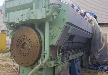 marine engine wartsila 16V32